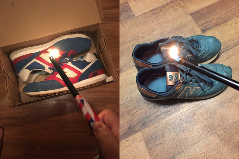 Pop Culture: New Balance is on fire LITERALLY