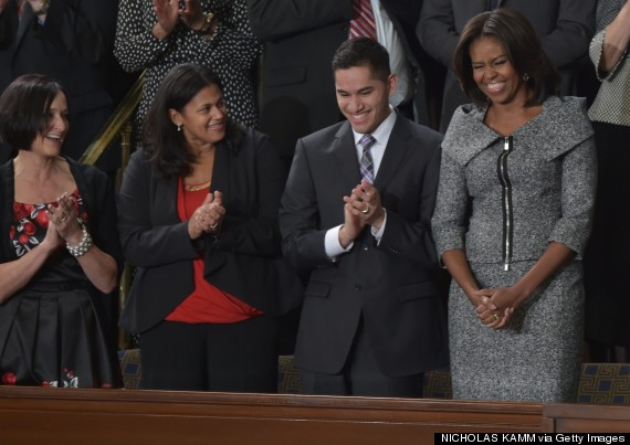 Hartford student attends State of the Union address