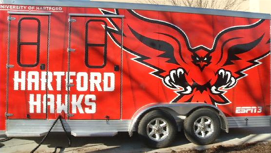 University of Hartford's New Sports Trailer