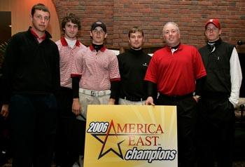 Men's Golf Wins America East Championship at The International