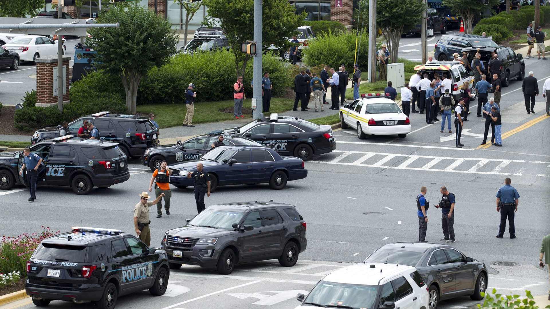 Deadly Shooting at Capital Gazette