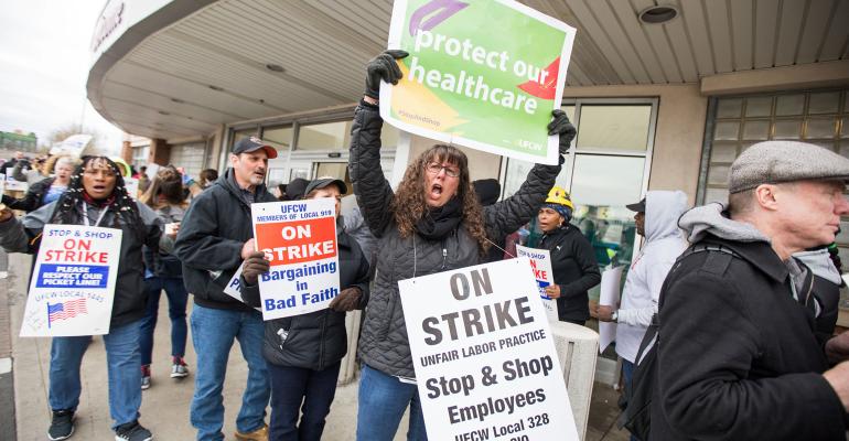 Stop & Shop Strikes
