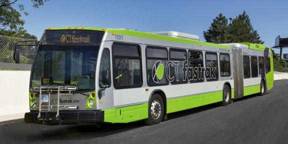 CTFastrak bus