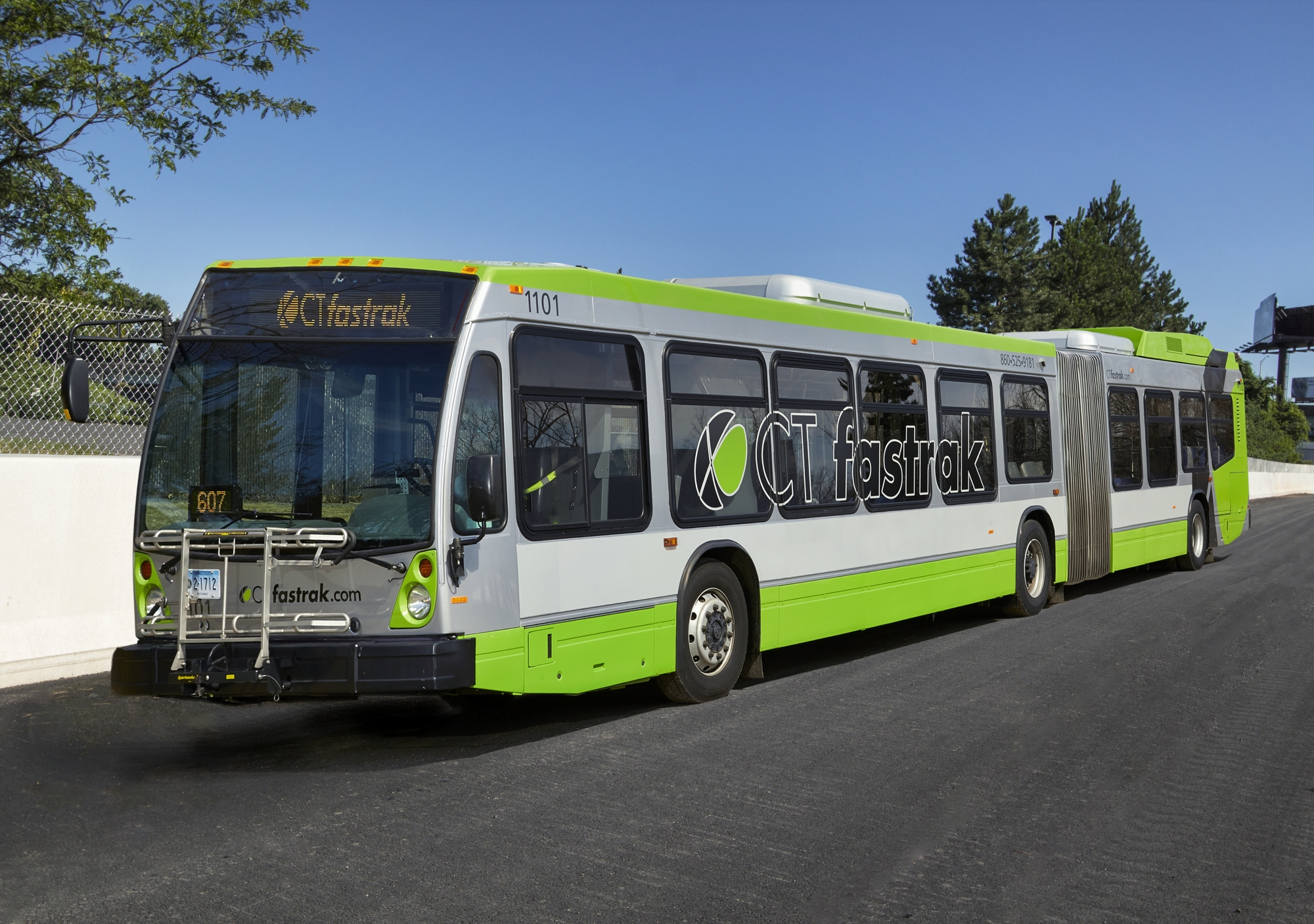 CT Fastrak opens for commuters, bus riders