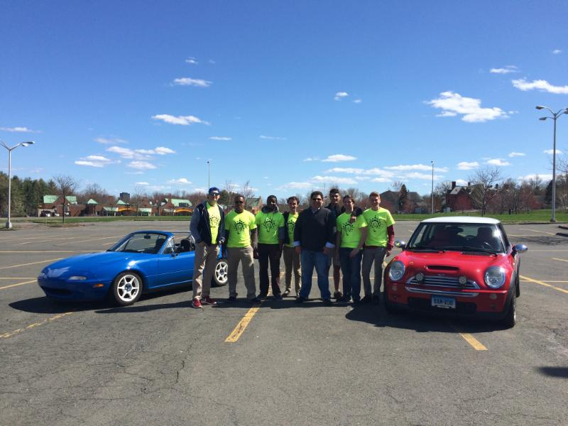 Innovator Group's first annual car show in B Lot