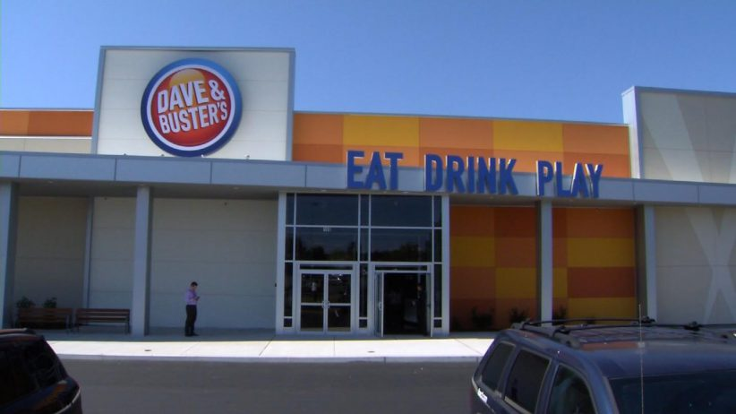 Dave and Buster's, located at the Buckland Hills Mall in Manchester, Conn.