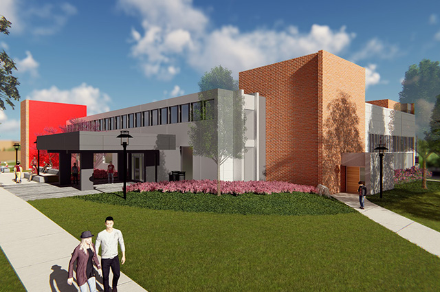Gengras Student Union is getting a new look