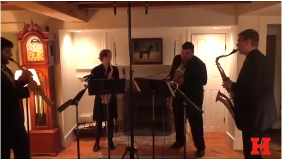 Hartt Students Perform In Living Rooms.