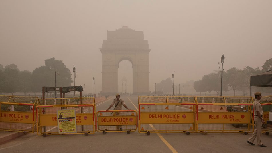 Deadly Smog in Indian Capital