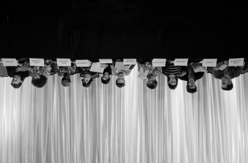 stranger things upside down photo