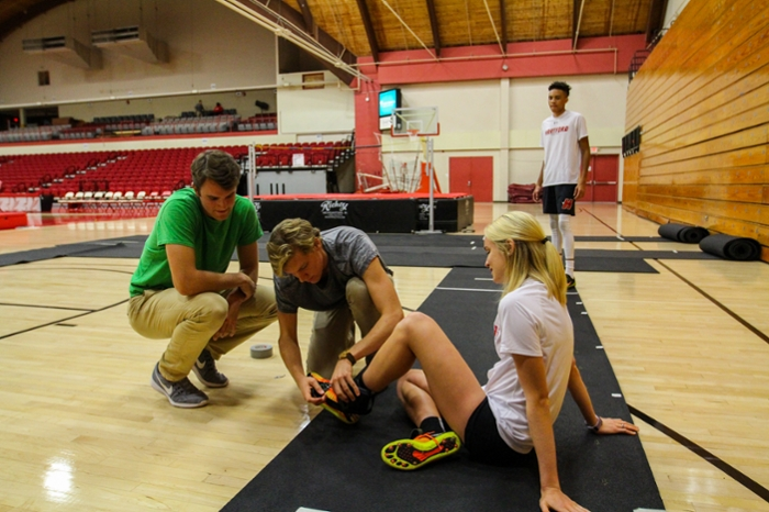 Uhart students work on technology that helps athletic performance