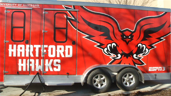 University of Hartford's New Sports Trailer