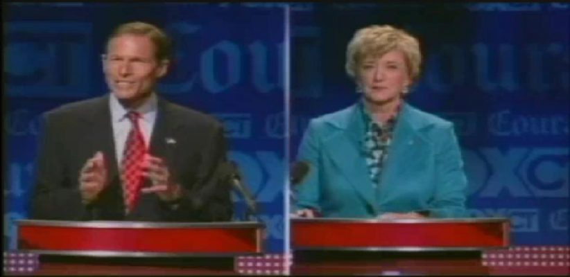 Blumenthal and McMahon Face Off
