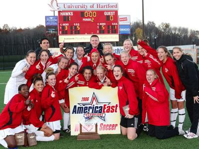 Women's Soccer Captures 2006 America East Championship