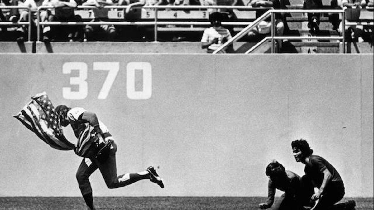 Rick Monday Becomes a Hero