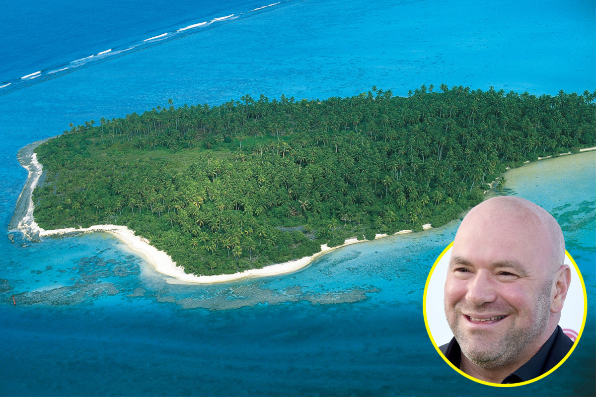 Dana White to Start Fight Island