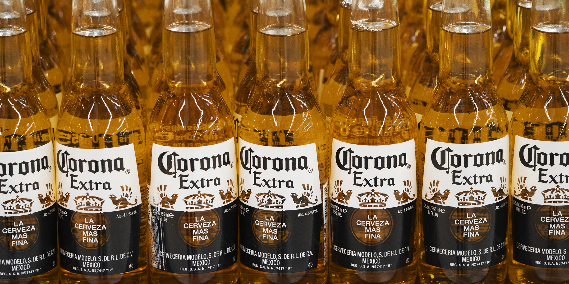 Coronavirus Stops Corona Beer Production