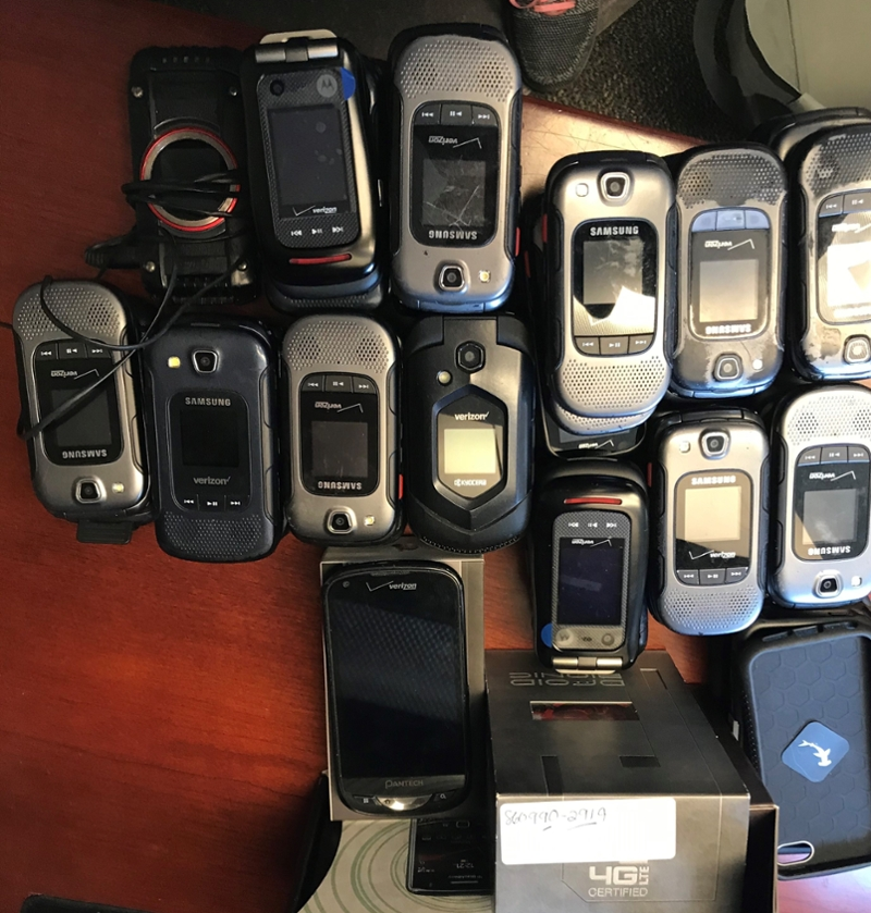 Helping Hawks: Phones Donated to Domestic Abuse Victims