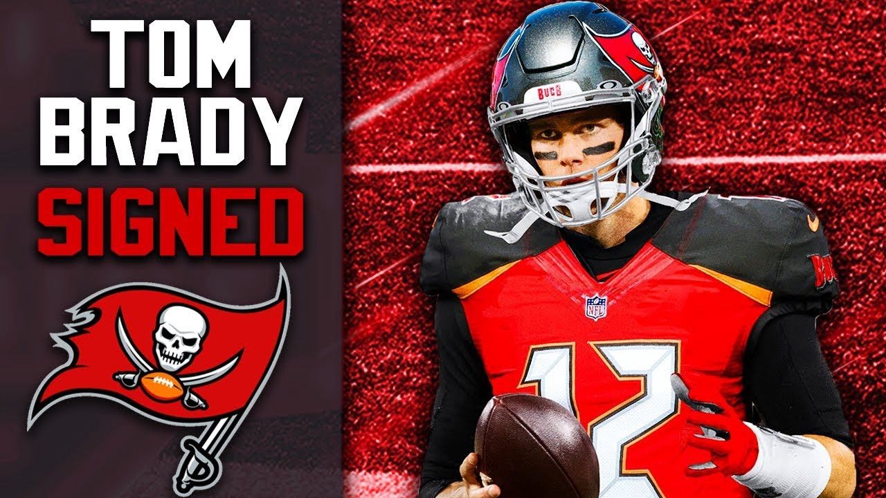 Tom Brady Signs with the Tampa Bay Buccaneers
