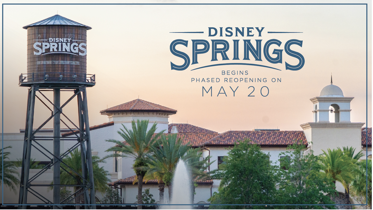 Disney Springs Phased Reopening