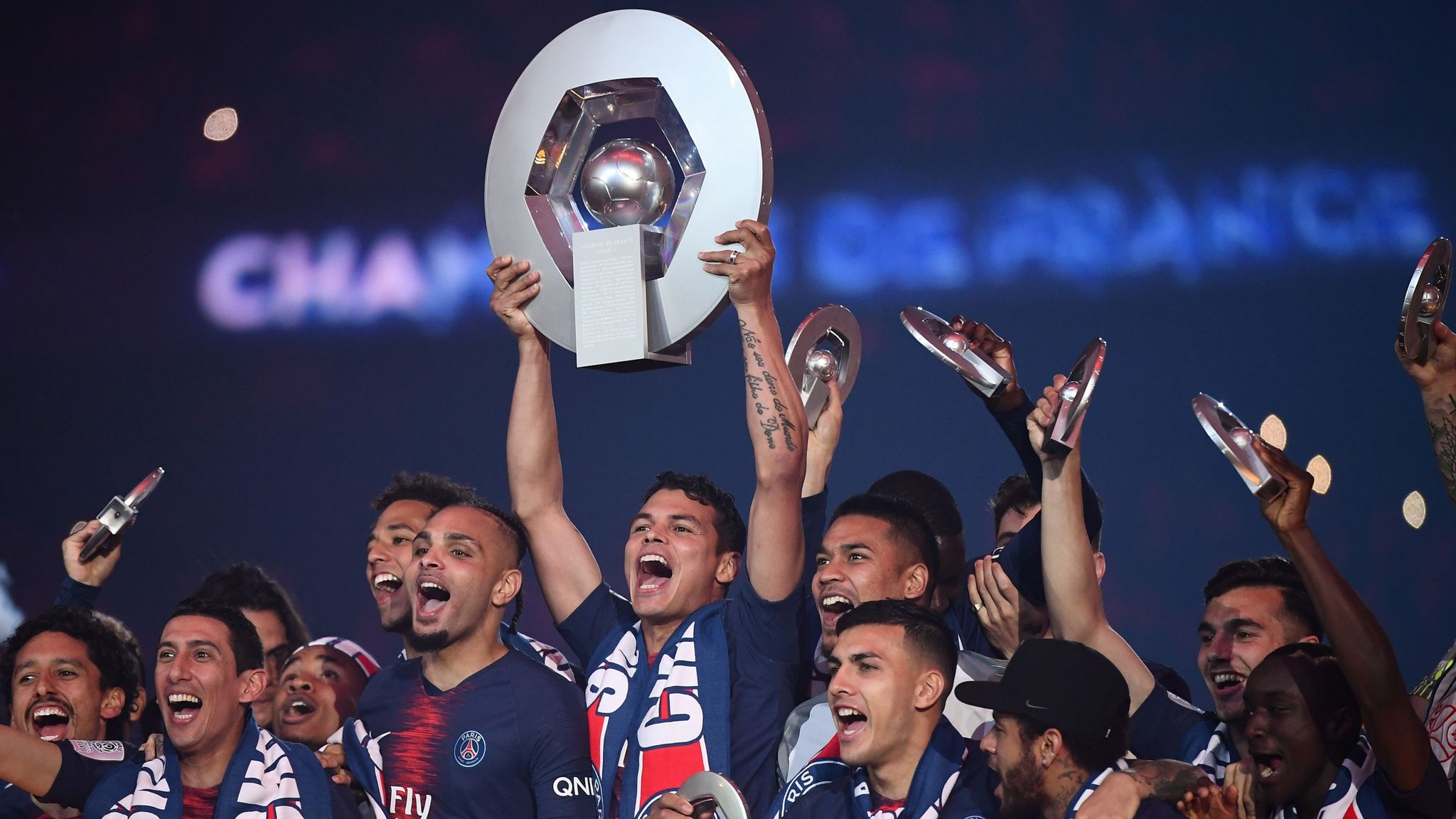 PSG Crowned Ligue 1 Champs