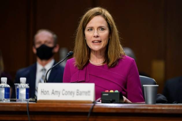 Amy Coney Barrett On Way To Replace RBG