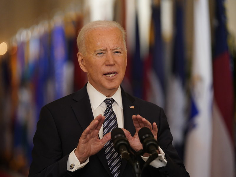 Biden Claims July 4th Will 'Mark Independence' from Coronavirus